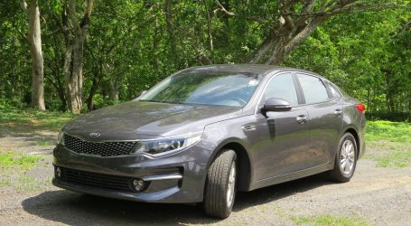 KIA OPTIMA. Familiar completo