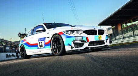 EL BMW M4 GT4 VIENE EQUIPADO CON LLANTAS HANKOOK