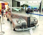 EXPOSICION DE AUTOS ANTIGUOS EN ALBROOK MALL