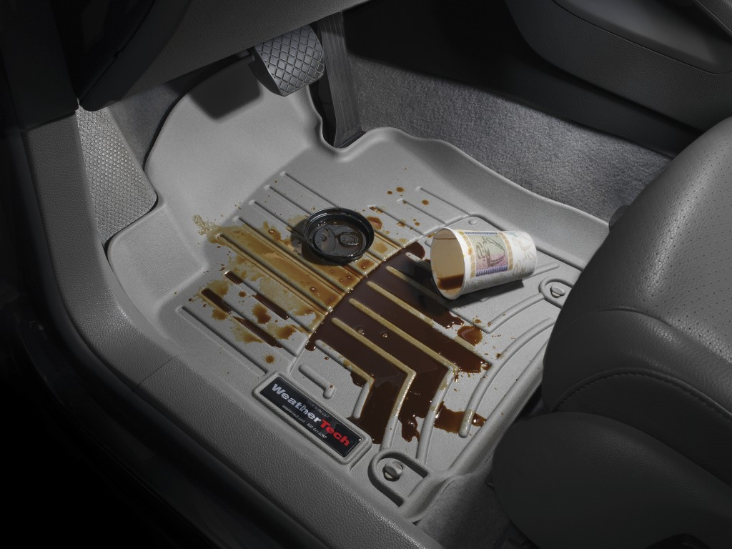WeatherTech Floor Mats - Coffee Spill