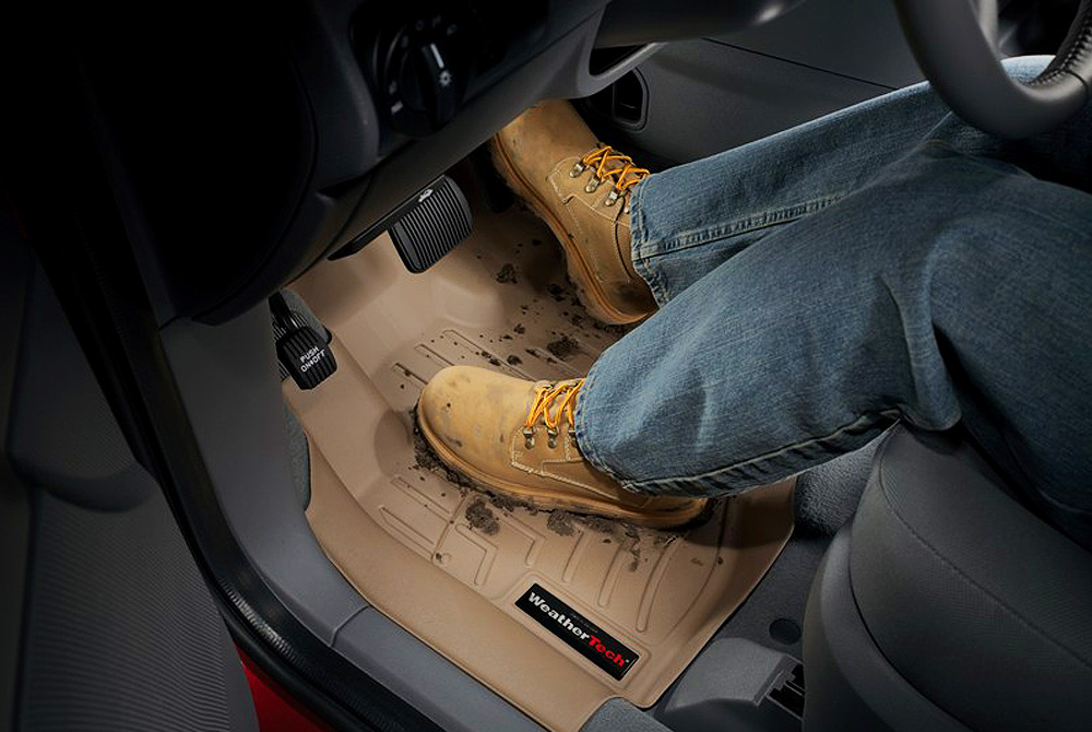 WeatherTech Floor Mats - Muddy Boots
