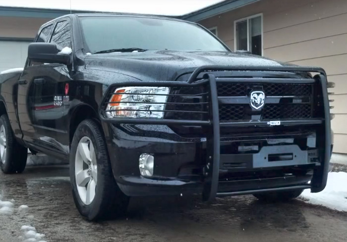 Westin Sportsman Black Truck Grille Guard Dealer and Installer - Longmont