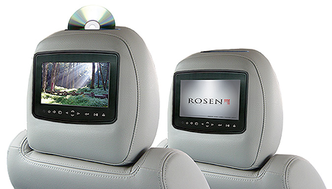 Rosen AV8900H Headrest DVDs Installation - Fort Collins, Loveland, Longmont, Colorado