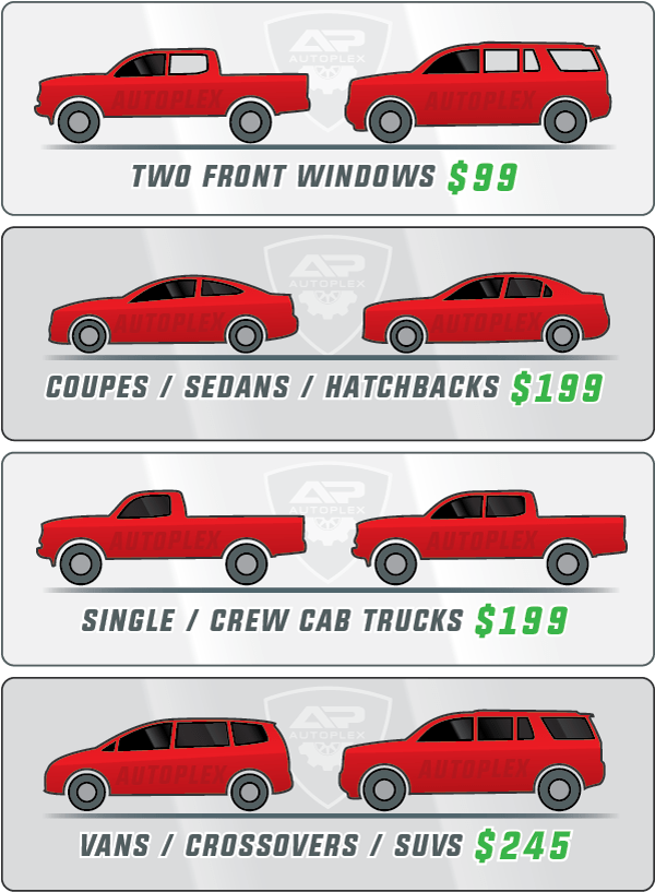 Car Window Tint Pricing in Northglenn, CO