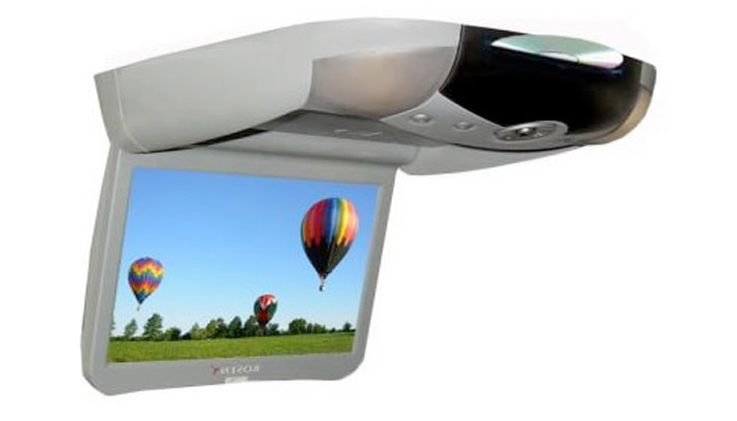 Rosen Z8 8.5-inch Overhead Vehicle DVD Installation - Fort Collins, Loveland, Longmont, Colorado