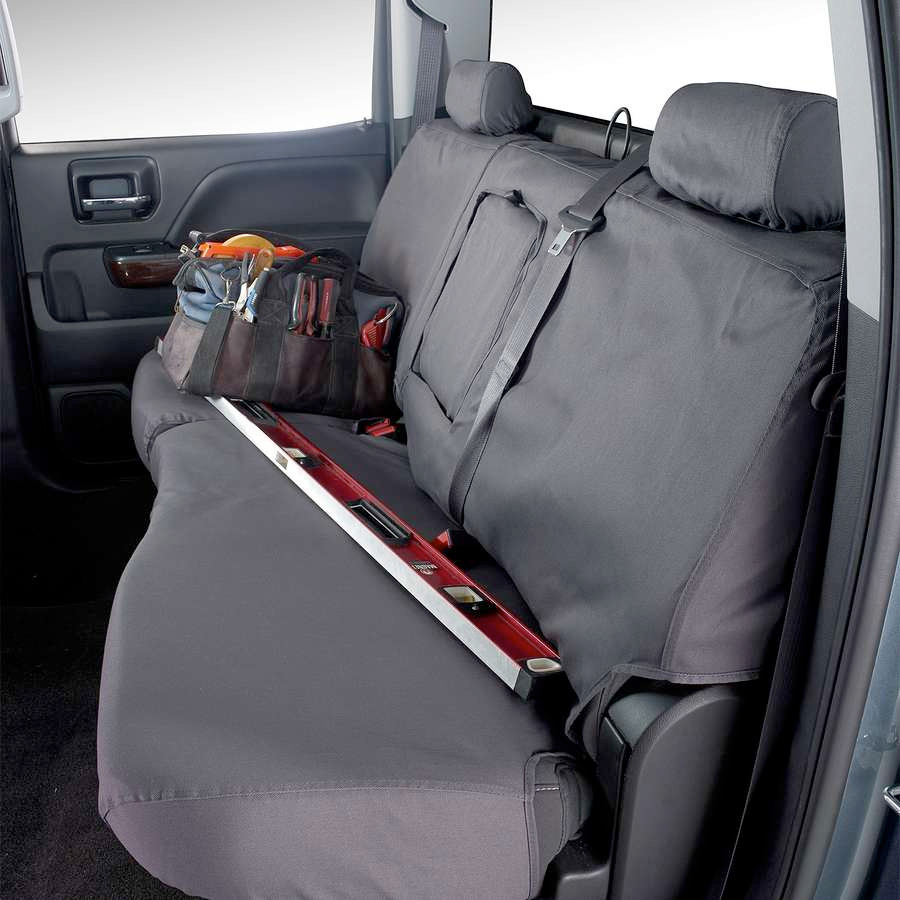 Covercraft SeatSaver Seat Cover Installed (Rear Seat)
