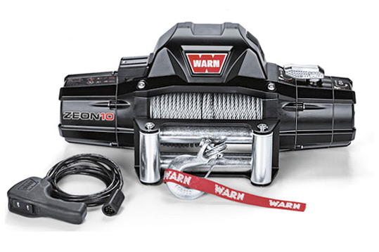 Warn Zeon 10 Offroad Winch Dealer and Installer - Loveland