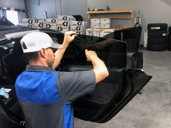 Professional Window Tint Installer at Autoplex Restyling Centers