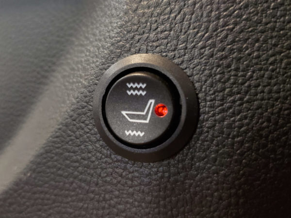 Aftermarket Heated Seat Switch