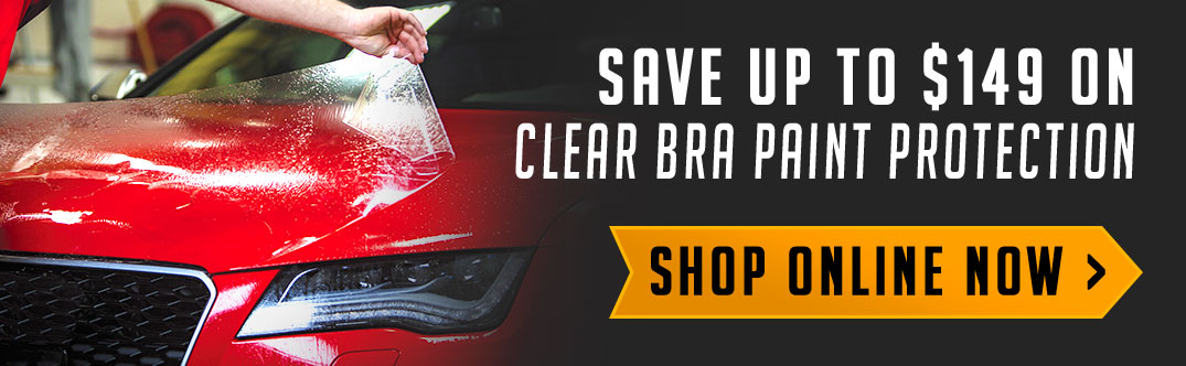 Save up to $149 on clear bra paint protection films. Shop online now!