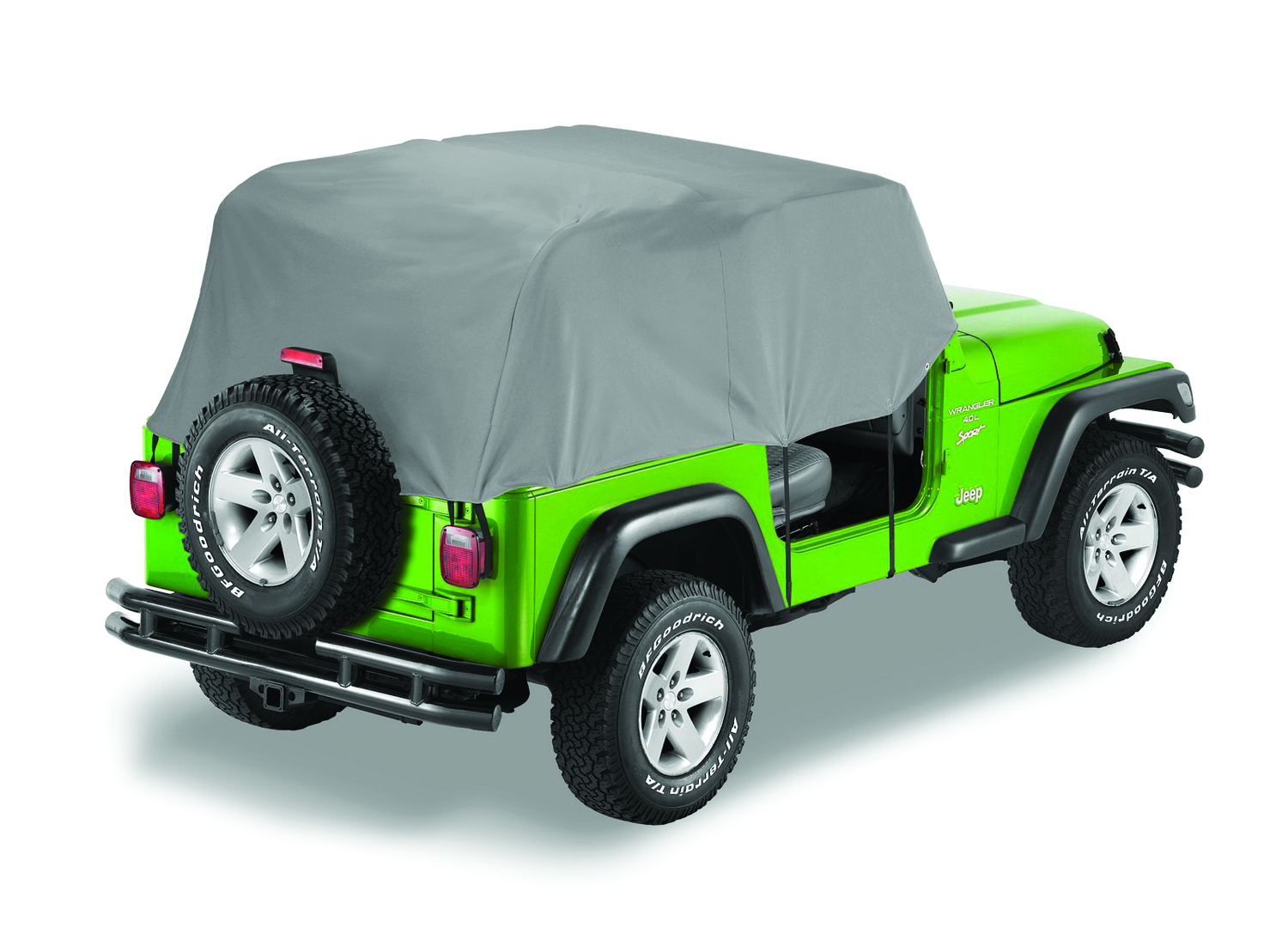 hight resolution of details about bestop 81035 09 charcoal all weather trail cover for 76 91 cj7 and wrangler yj
