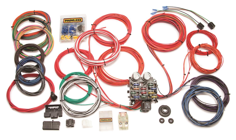 painless wiring 1999 ford ranger parts diagram 10120 12 circuit trunk mount