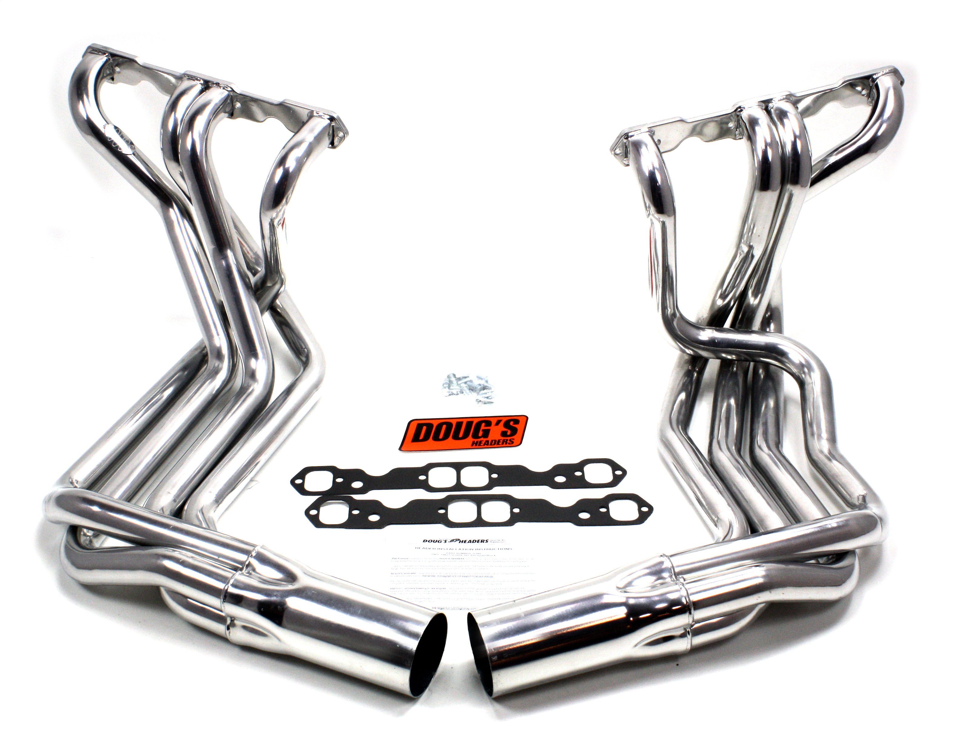 Doug S Headers D380 1 7 8 4 Tube Full Length Metallic