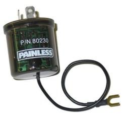 3 Pin Electronic Flasher Relay Wiring Diagram Venn Of Transverse And Longitudinal Waves Painless 80230 Led Autoplicity