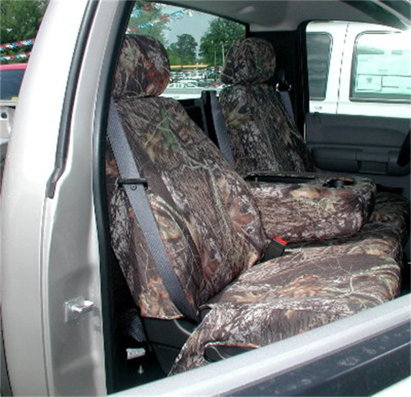 Hatchie Bottom H16470n Sgb Custom Seat Cover; Armor Suede; Mossy Oak Shadow Grass Blades