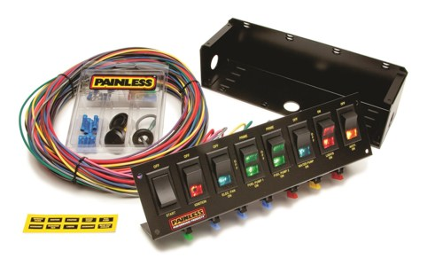 small resolution of painless wiring 50303 fused rocker switch panel autoplicity 4 pin winch rocker switch wiring diagram lighted