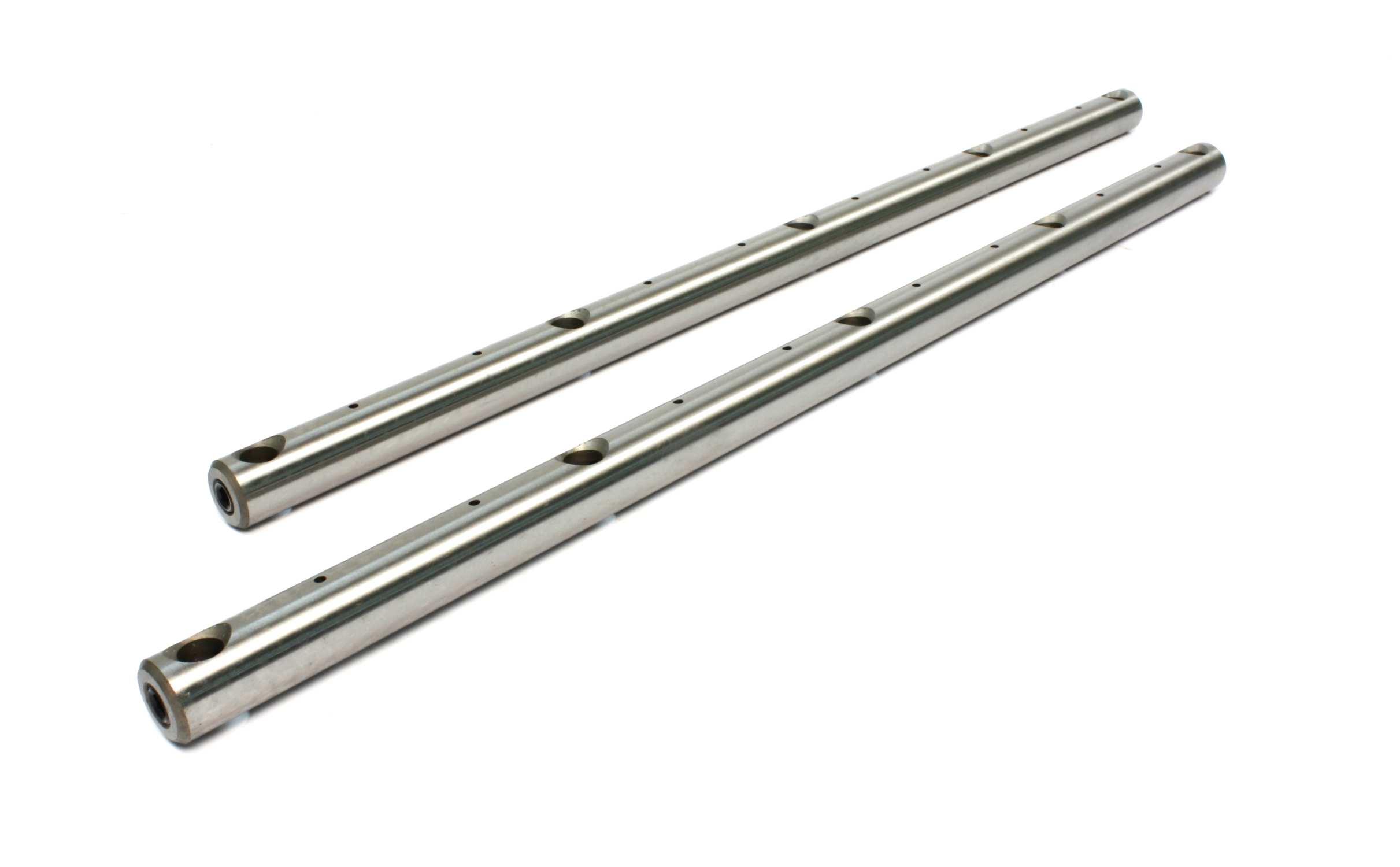 Comp Cams 2 Aluminum Roller Rockers Hard Chrome Shaft