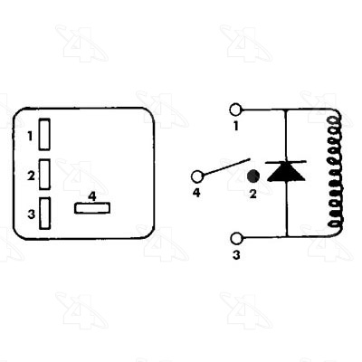 4 Pin Relay Harness P Number 4 Pin Jumper Wiring Diagram
