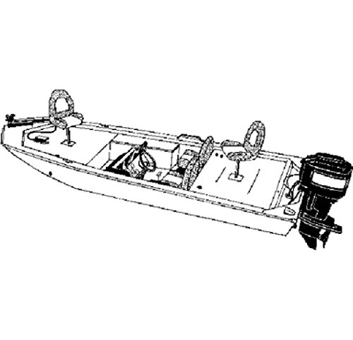 Carver Industries 18' Jon Boat Camo Covermo 77818c-Sg