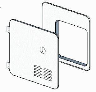 GIRARD PRODUCT 2GWHDAS10 Gswh-2 Door Kit At/sb 10g