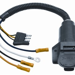 Reese Trailer Light Wiring Diagram Kenwood Kvt 514 2 20321 7 Way Connector Adapter Autoplicity