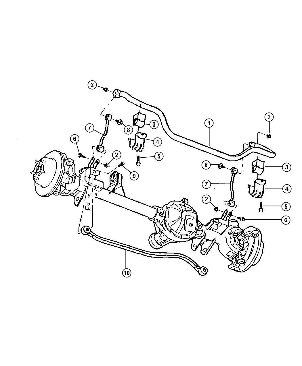 2004 chrysler pacifica engine diagram lewis dot for ch3cl rear suspension