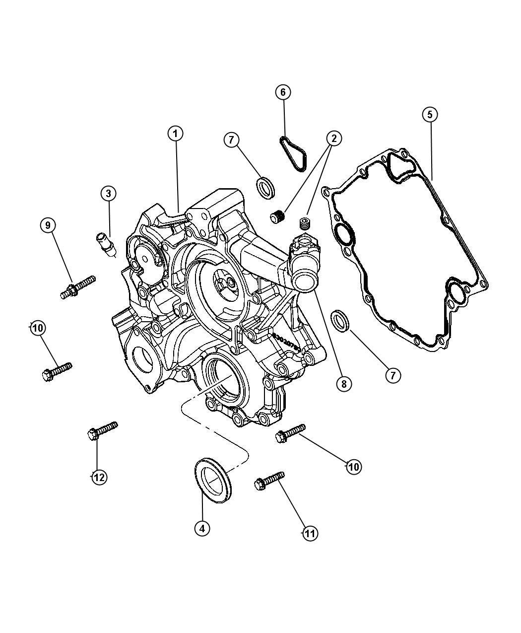 Mopar Performance Mopar Gasket Chain Case