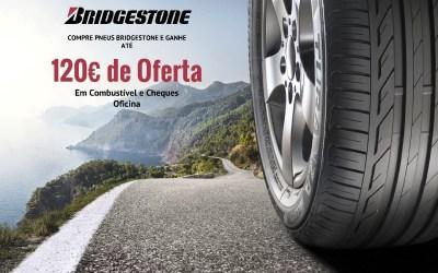 Campanha Pneus Bridgestone! Ganhe até 120€