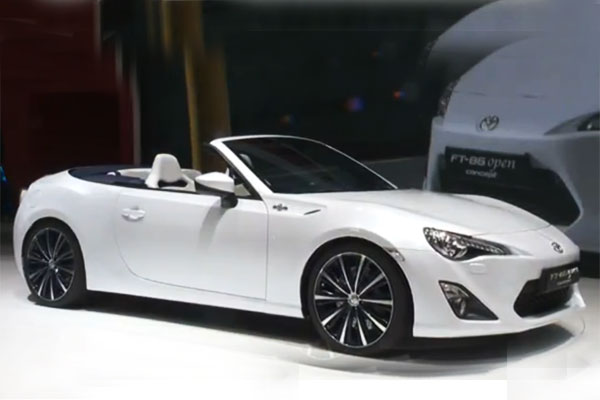 Toyota FT86 Open