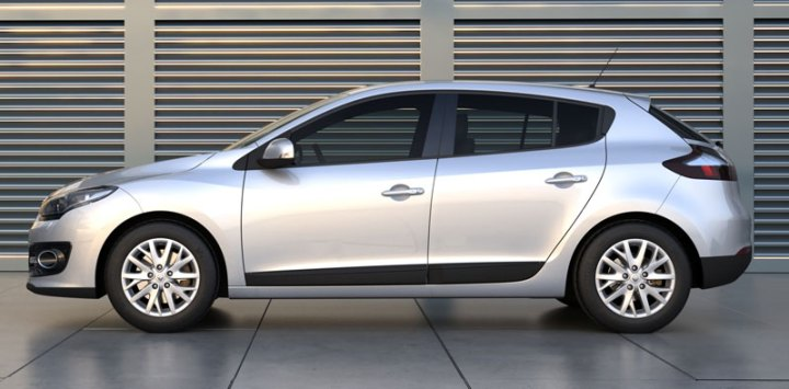 nuevo renault megane iii lateral