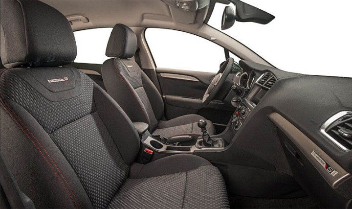 citroen c4 lounge s interior