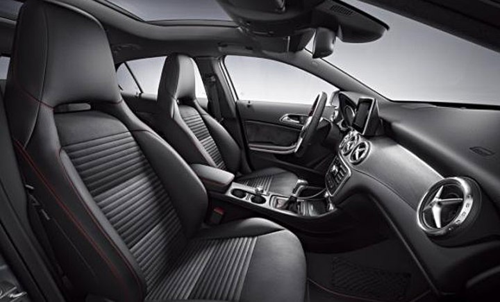 mercedes gla 250 amg interior