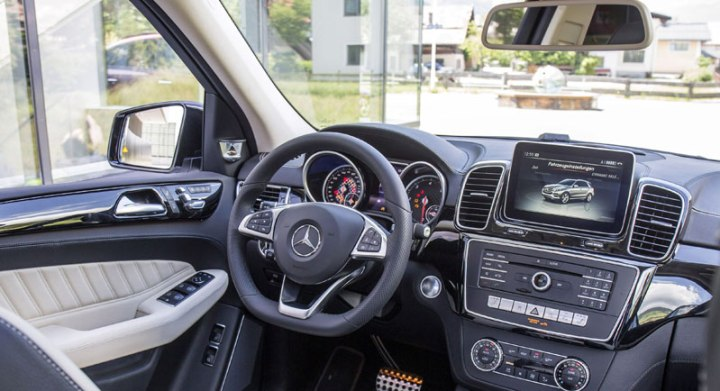 mercedes gle 400 amg interior