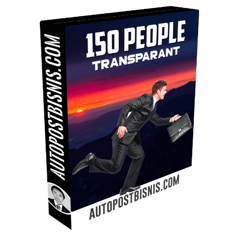 150 People Transparant