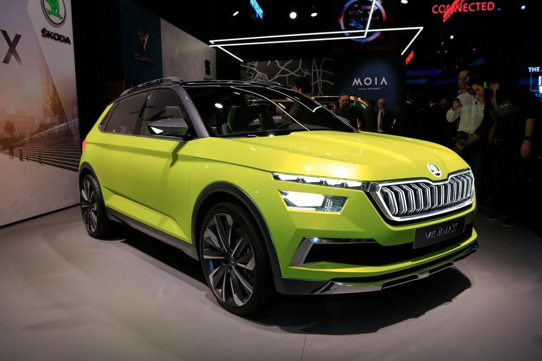 Proizvodna Škoda Vision X stiže u Ženevu 2019.