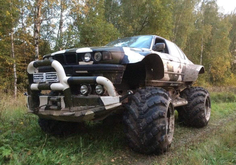 BMW Serije 7 Rusi pretvorili u ultimativno terensko vozilo