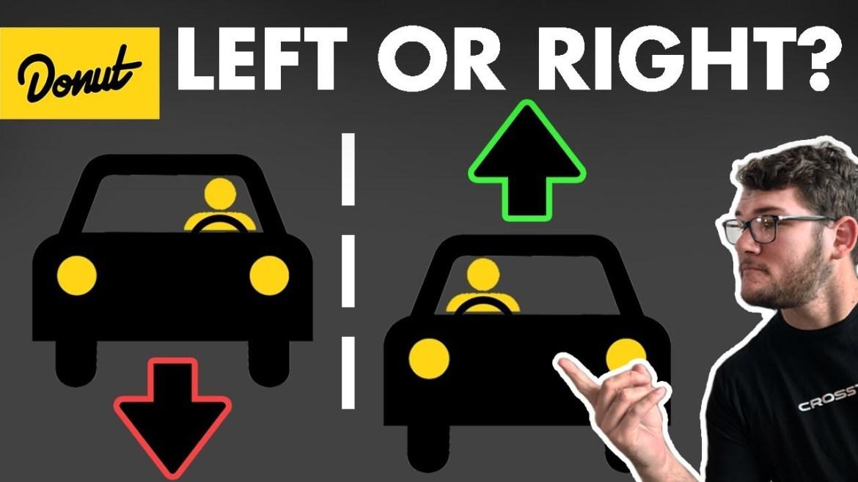 Evo zašto se u nekim zemljama vozi s desne, a u nekim s lijeve strane