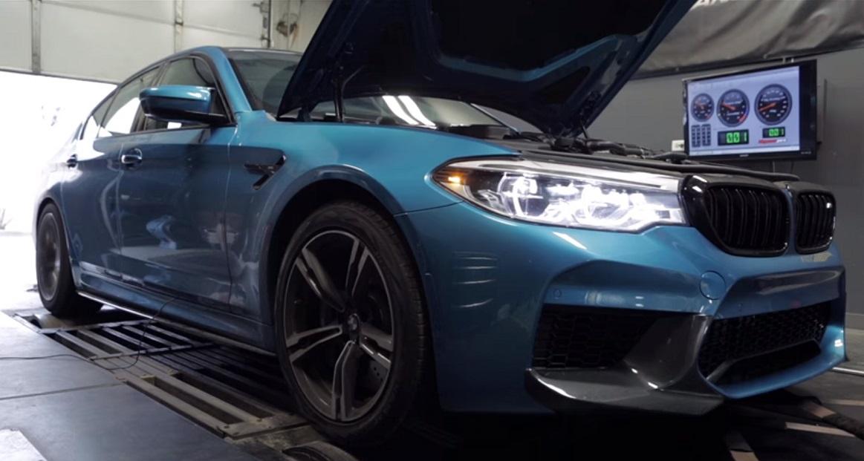 Evo koliko konja stvarno razvija BMW M5