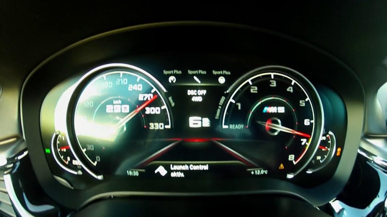Novi BMW M5 je znatno brži od tvorničkih podataka