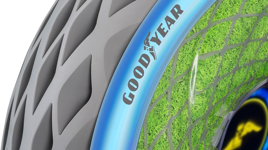 Goodyear Oxygene je pneumatik koji proizvodi kisik