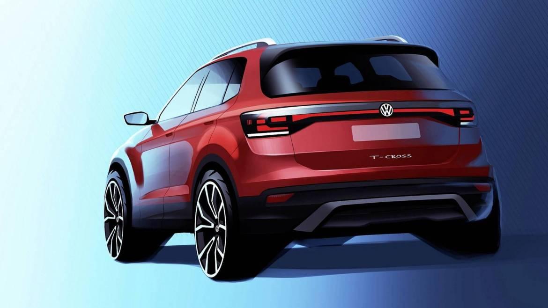 Ovo je novi Volkswagen T-Cross