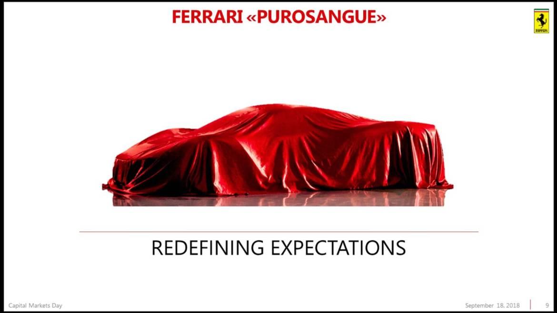 Ferrari SUV zvat će se Purosangue