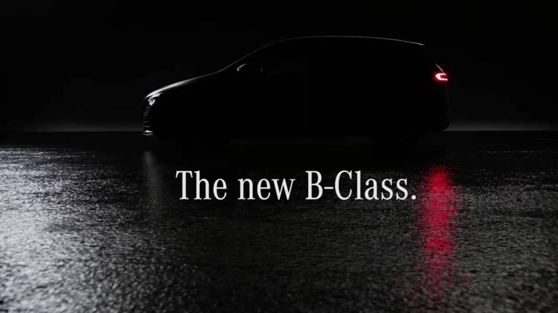 Najavni video unutrašnjosti B-Klase