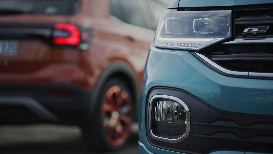 Najavna fotka novog VW T-Crossa