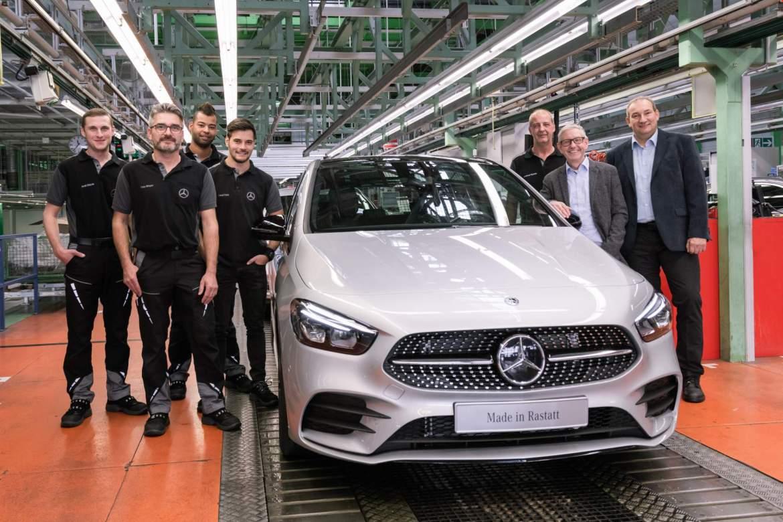 Počela proizvodnja novog Mercedes-Benza B-klase