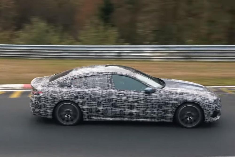 BMW M850i xDrive Gran Coupe uhvaćen na završnom testiranju