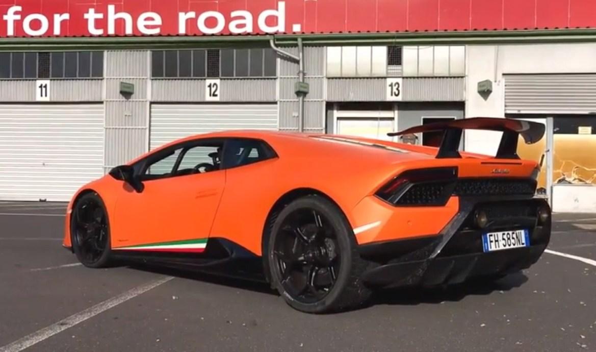 Video: Lamborghini Huracan Performante juri Nürburgringom