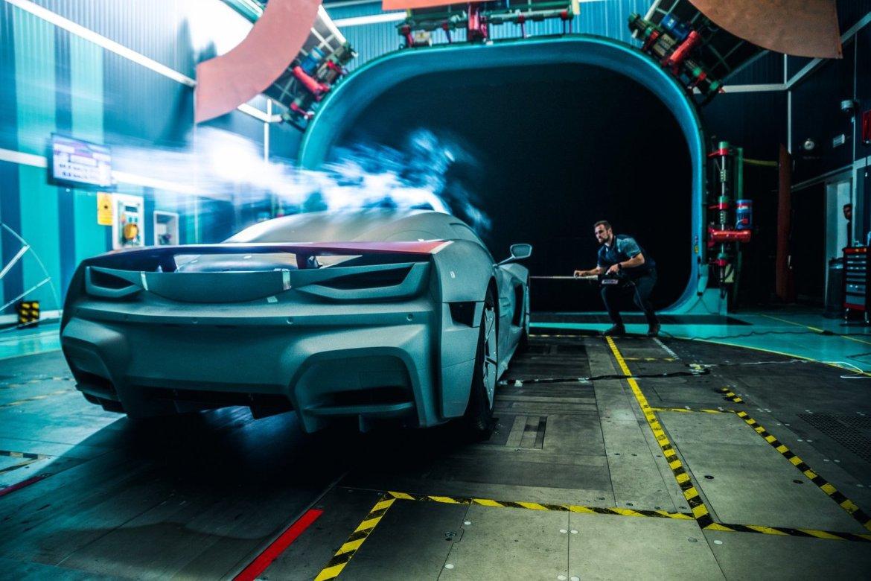 Rimac C_Two testiran u zračnom tunelu Fiat Chryslera