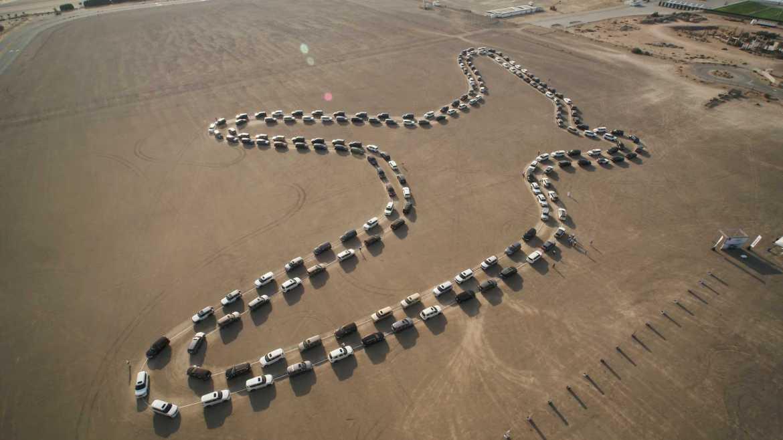Video: Pogledajte najveći ples automobila za Guinnessa