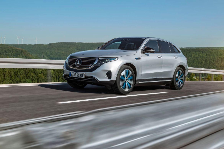 Električni SUV Mercedes-Benz EQC uhvaćen na Nürburgringu